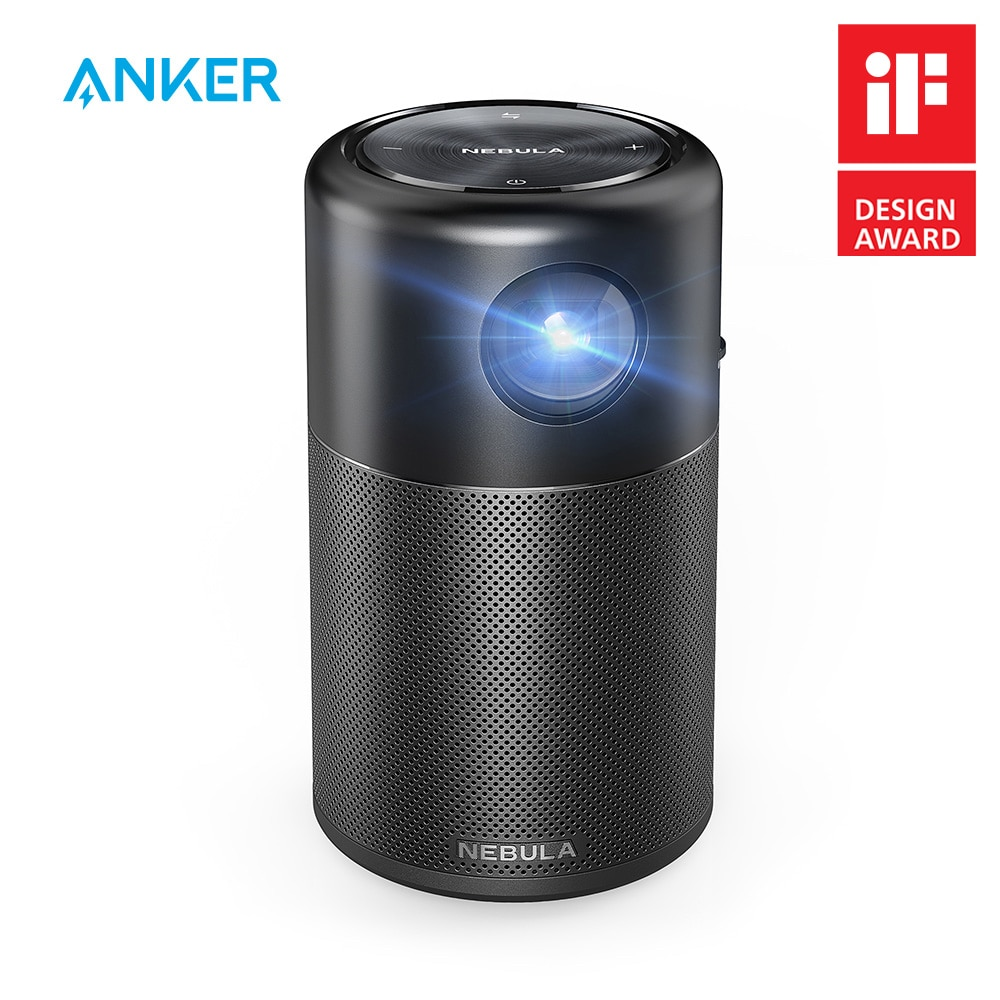 Bestselling Anker Nebula Capsule Smart Portable Projector HD Quality Pocket Home Theater