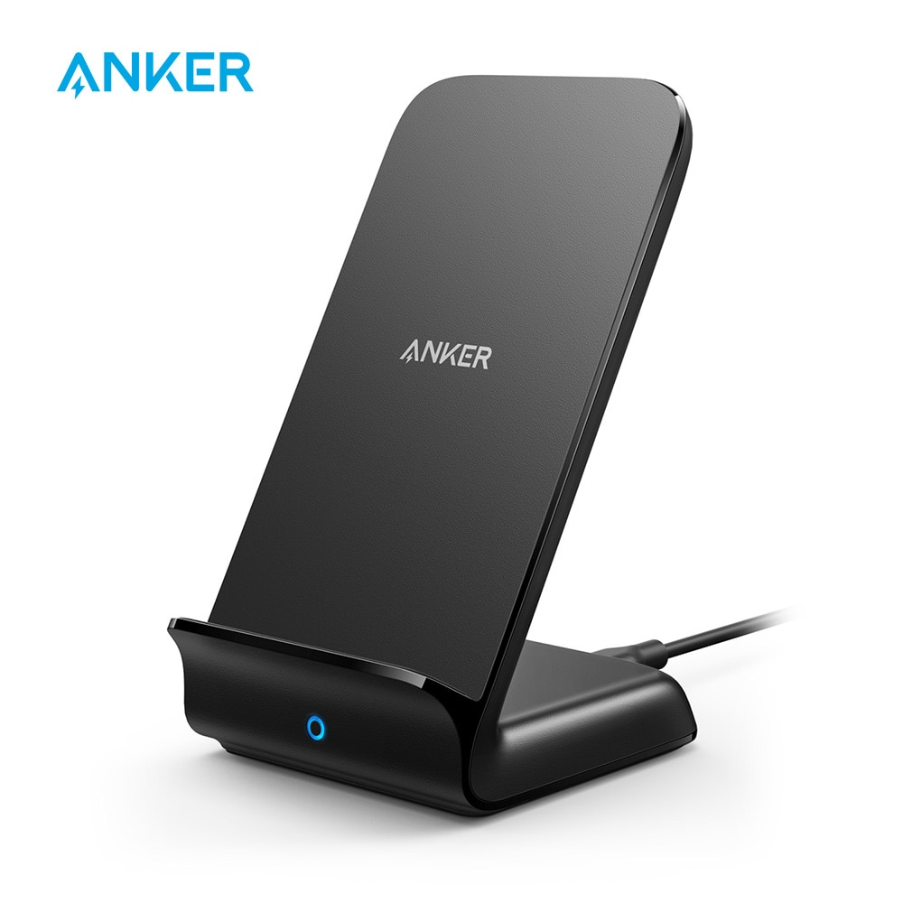 Anker Qi-Certified Wireless Charger 7.5W PowerWave Stand
