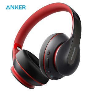 Anker Soundcore Life Q10 60-Hour Playtime Foldable Over Ear Wireless Headphones