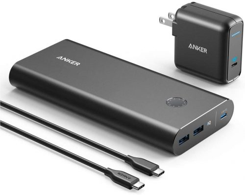 Anker PowerCore 26800mAh Power Bank Speed Recharging Portable Charger