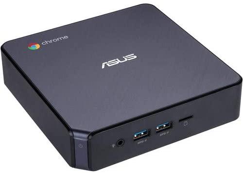 ASUS CHROMEBOX 3-N017U Mini PC 4K UHD Graphics 8GB DDR4 + 32GB