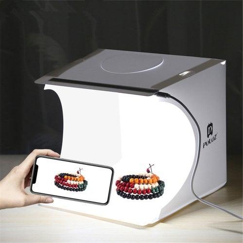 Mini Home Photo Light Box Bilikay PULUZ Mini Photography Shooting LED Box