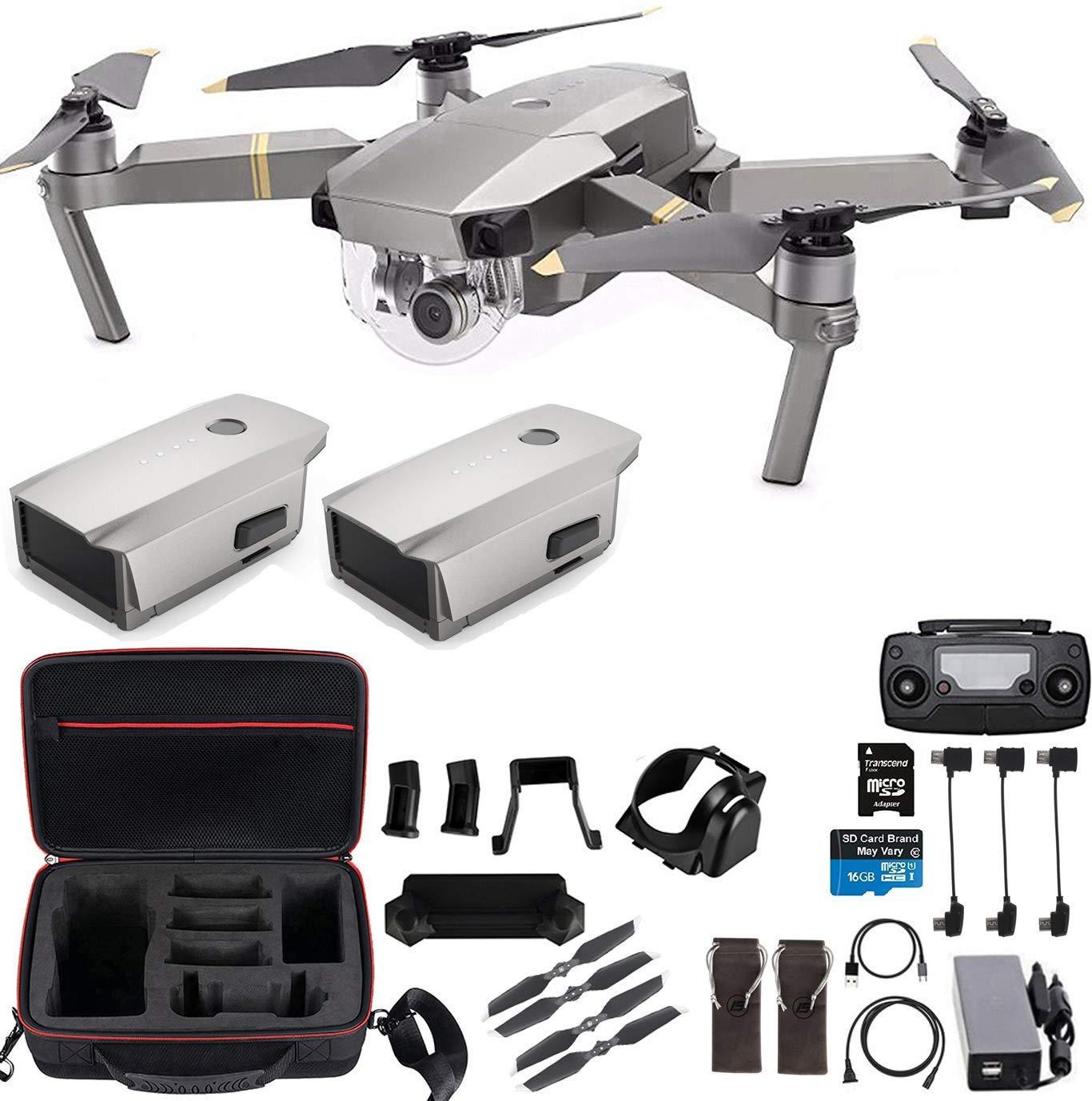 DJI Mavic Pro Platinum Flagship 4K Quadcopter 7 km Range Drone