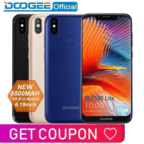 Doogee BL5500 Lite U-Notch 6.19-inch Phablet