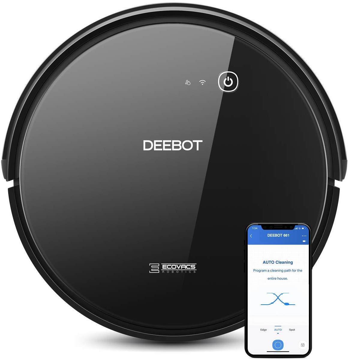 ECOVACS DEEBOT 661 Convertible Vacuum Cleaner App Control