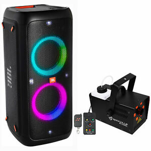 JBL PartyBox 300 Premium Bluetooth Audio System with JBL Boombox Portable Speaker