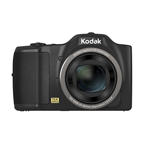 Kodak 16 Friendly Zoom Fz152 Digital Camera 15x Optical Zoom 24mm Wide Angle