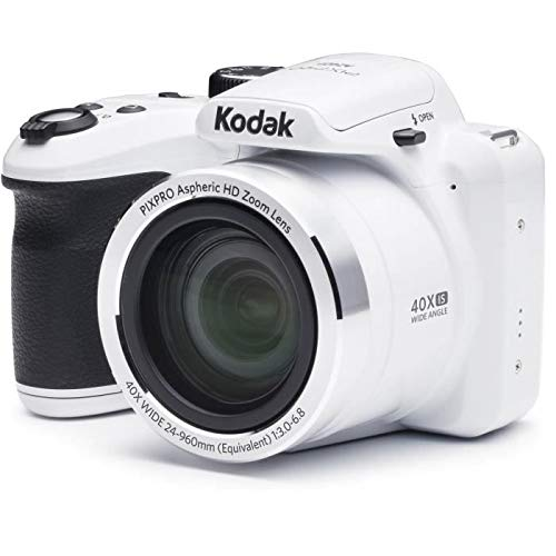 Kodak AZ401-WH PIXPRO 16MP Digital Camera White Camera For Travel