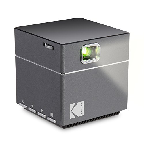 Kodak DLP Cube 1080p Pico LED HD Quality Projector Home Media Player