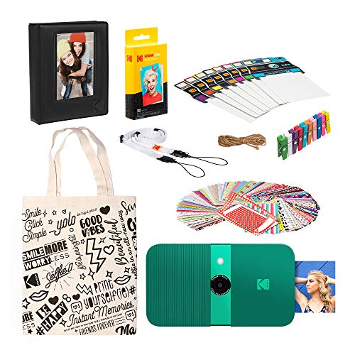 KODAK Smile Instant Print Digital Camera Complete Scrapbook Kit