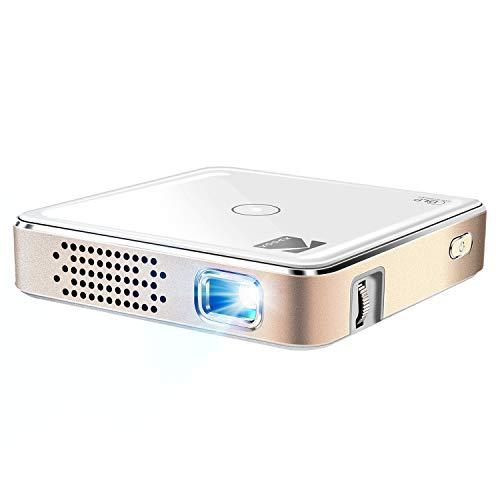 Kodak Ultra Mini Portable Projector 100-inch Display HD DLP Rechargeable Projector