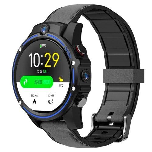 Kospet Vision Smartwatch 4G Phone 1.6-inch IPS Screen GPS Dual Camera