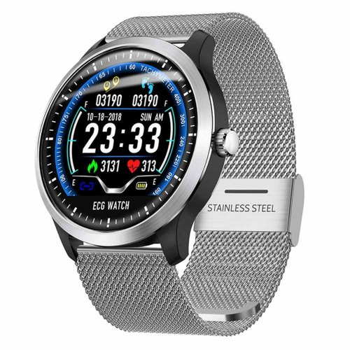 LEMFO 2019 Smart Watch Waterproof HR & Blood Pressure Monitor Sport Watch