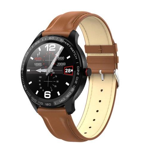 LEMFO L9 ECG Waterproof Smart Watch Multi-Touch Round Shape Sports Watch