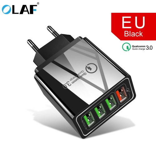 OLAF 3.0 QC3.0 Fast Charging USB Charger for Smartphones