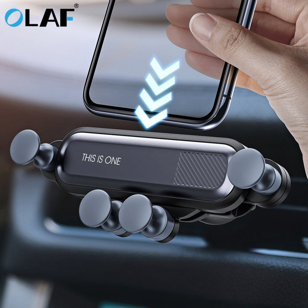 Olaf Gravity Phone Holder Car Air Vent Clip Mount Holder For Smartphones