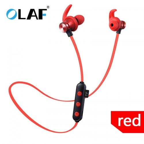 OLAF Bluetooth Headset Sports Bass Wireless Stereo Earphone With Mic