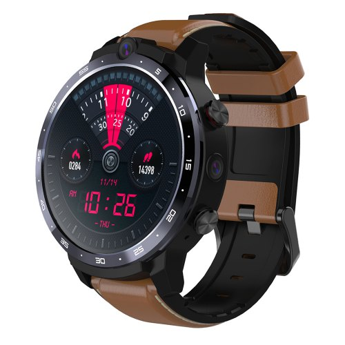 OUKITEL Z32 Smart Watch Phone With Big Battery Capacity And Wireless Charger