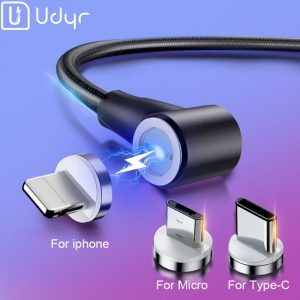 Udyr Micro USB Type C and Lightning Cables