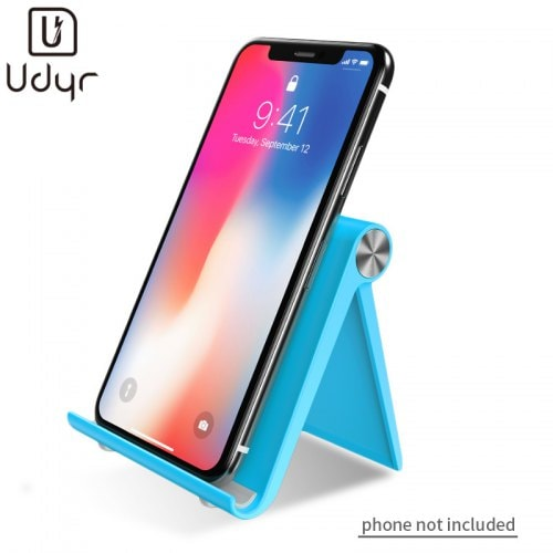 Udyr Desktop Foldable Stand With Silicone Pad For Smartphone and Tablet Devices