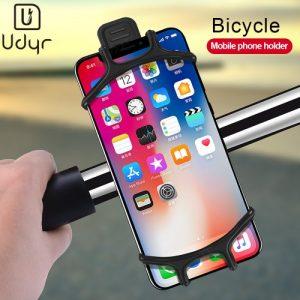 Udyr Silicone Bike Clip Stand Bike Phone Holder