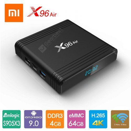 X96 Air 8K Smart TV Box