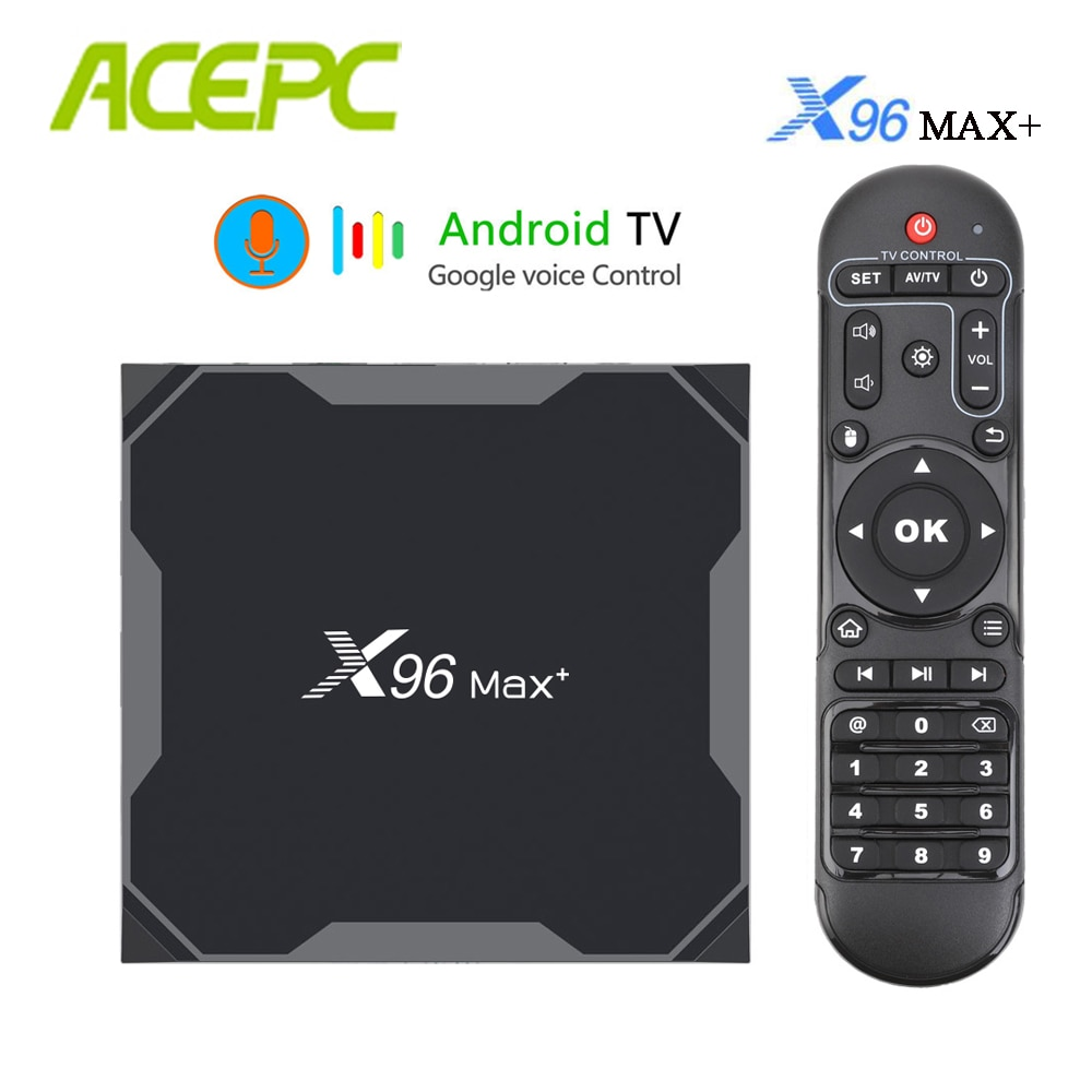 X96 MAX Smart TV Box WiFi 4K Streaming Media Player 1080P Home Entertainment
