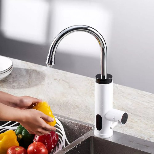 Xiaoda Stainless Steel Kitchen Sink Faucet Instant Water Heater