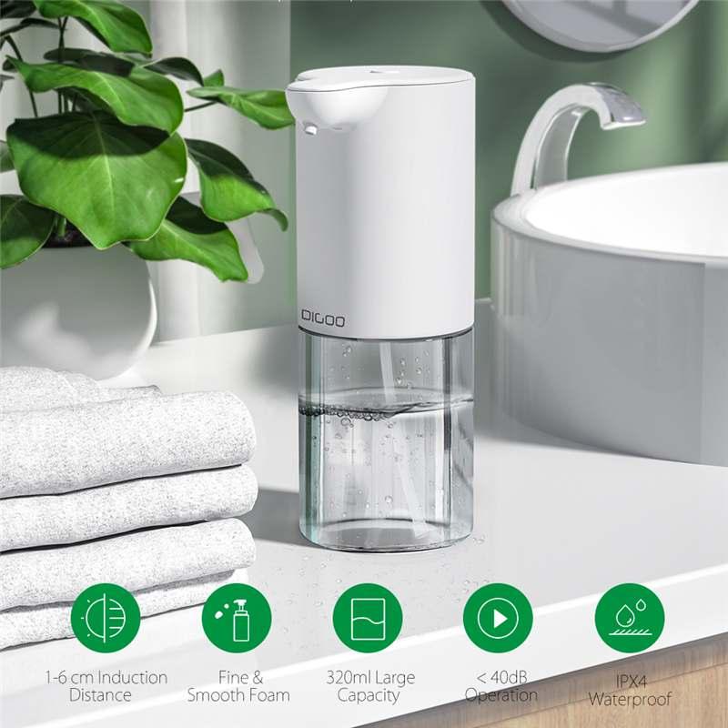 Digoo DG-DP01 320ml Infrared Sensor Foam Soap Dispenser Auto Hand Sanitizer