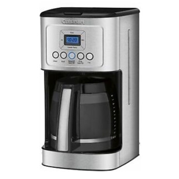 Cuisinart DCC-3200P1 Stainless Steel Programmable Coffee Maker with Glass Carafe