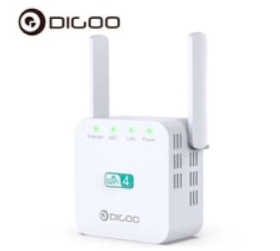 DIGOO DG-R611 Dual Antenna Range Extender Repeater Wireless Signal Booster