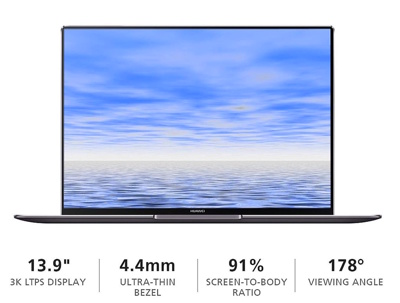 Huawei MateBook X Pro (Signature Edition) 13.9″ Touchscreen Laptop Thin Laptop