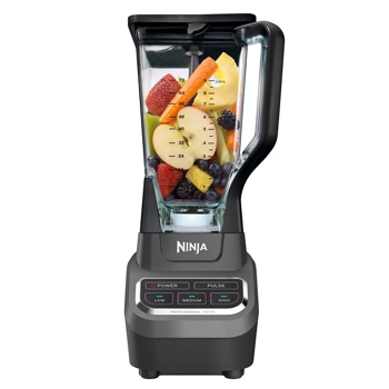 Ninja BL610 72oz Countertop Blender Crushing for Smoothies Ice and Frozen Fruit