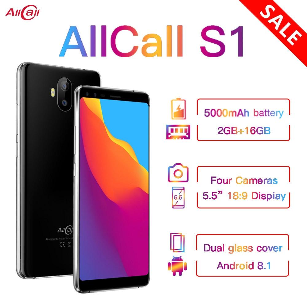 Allcall S1 3G Mobile Phone Big Battery 5000mAh 16GB Budget Smartphone