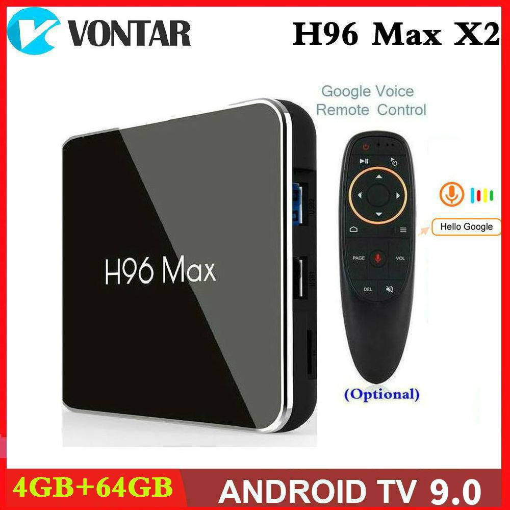 H96 Max X2 TV Box 32GB to 64GB ROM Android 8.1 BT4.0 Smart 4K Media Player