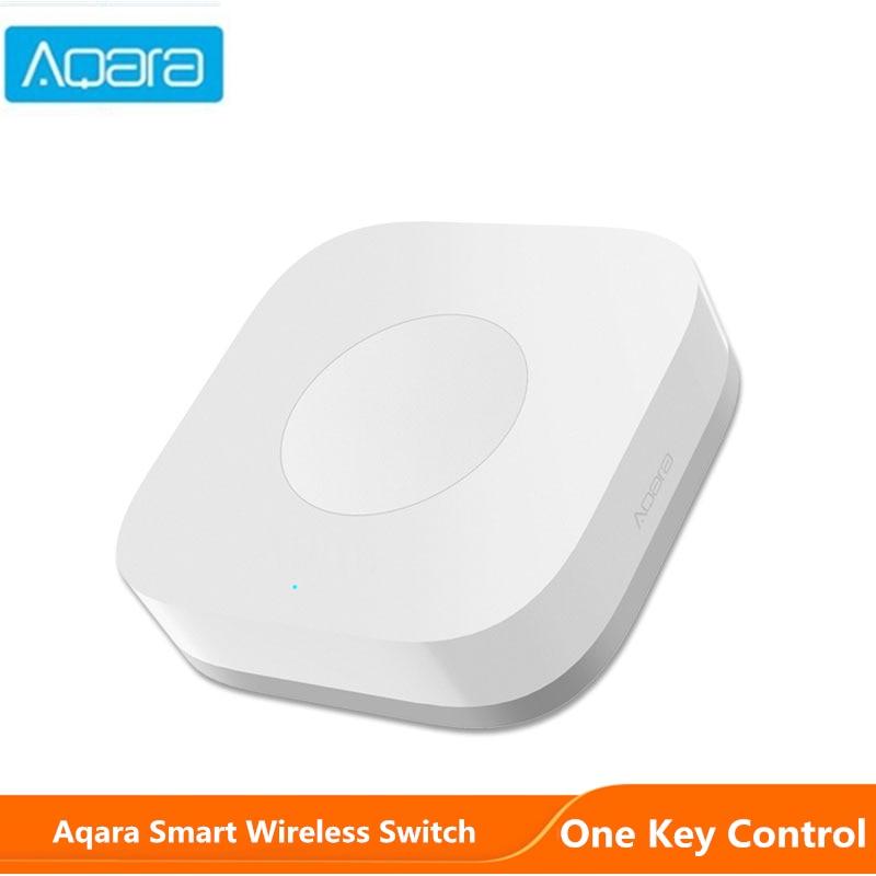 Aqara Smart Wireless Mini Switch One Key Home Security APP Control