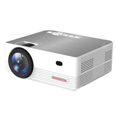 Bilikay Q6 LCD Video Projector Large Screen Size LED 1280 x 720 DPI Home Cinema
