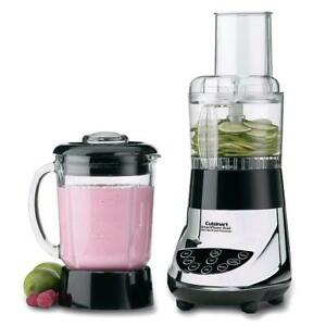 Cuisinart BFP-703BC Smart Power Duet Blender Touch Pad Controls With LED Indicators
