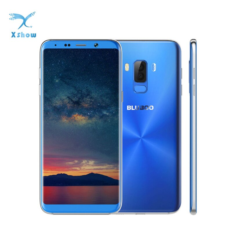 BLUBOO S8 Plus Phone 6.0-inch 64G 18:9 Ratio Full Display Smartphone