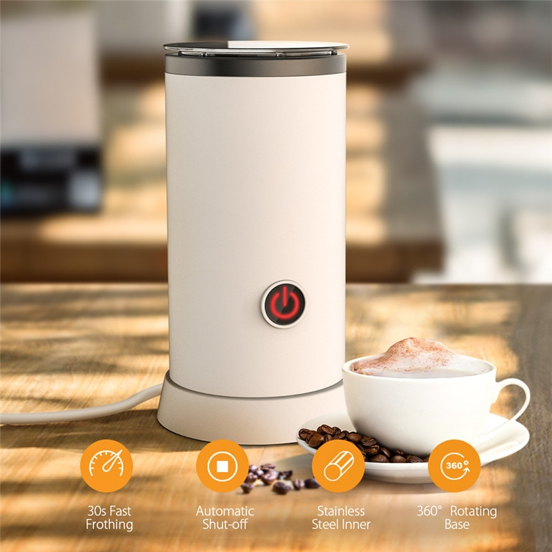 Digoo DG-HS005 Electric Milk Frothing Machine Stainless Steel Automatic Milk Heating