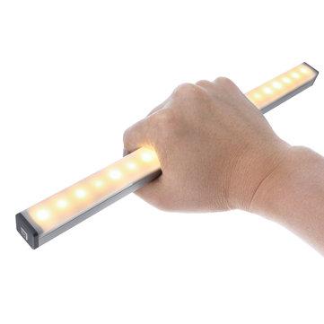 DIGOO DG-GYDC Under Cabinet USB LED Light Motion Sensor Closet Night Light
