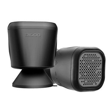 Digoo DG-MX10 Outdoor Waterproof TWS Bluetooth Speaker With Suction Cup