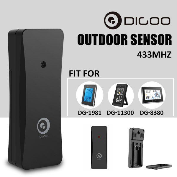 Digoo DG-R8H Wireless Weather Station Outdoor Sensor Hygrometer Thermometer