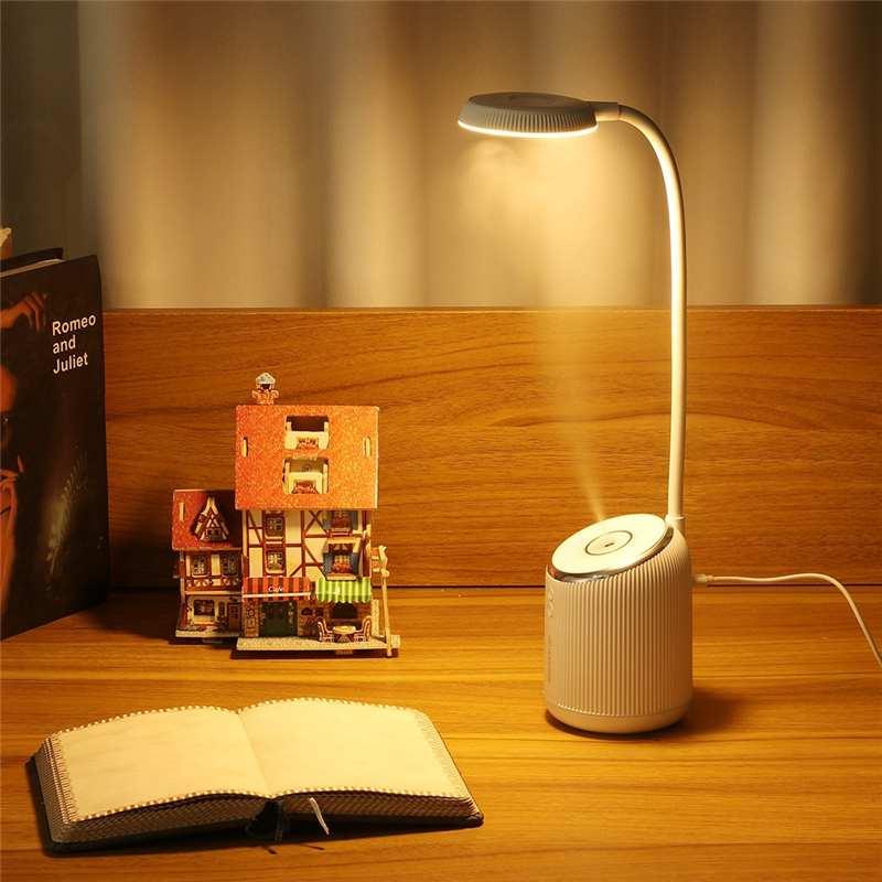 DIGOO DG-TD09 Air Humidifier Table Lamp 360° Adjustment USB Night Light