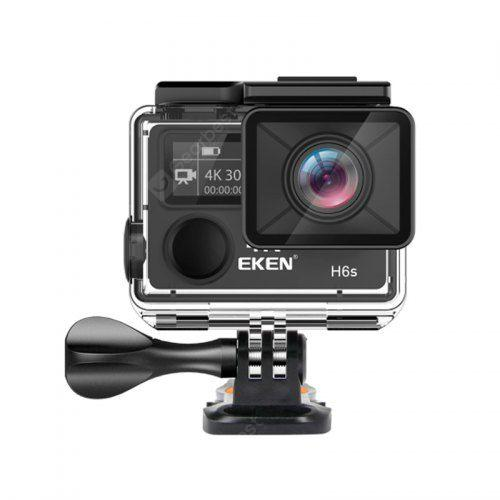 EKEN H6S UHD WiFi 4K Action Camera 170 Degree Wide Angle Lens 30M Waterproof