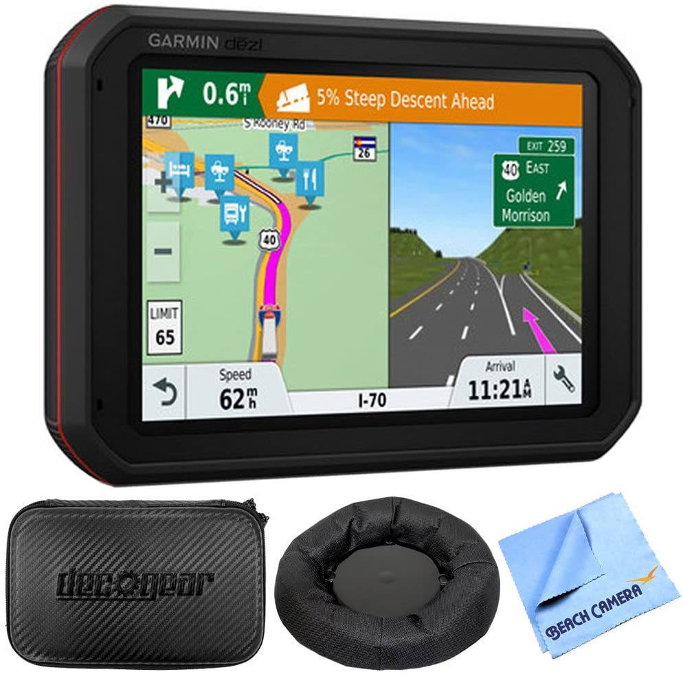Garmin dezlCam 785 LMT-S All-in-one 7-inch GPS Truck Navigator with Built-in Dash Cam
