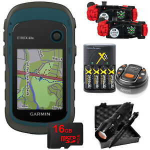 Garmin eTrex 22x Rugged Handheld GPS Navigator With Sunlight-readable Color Display