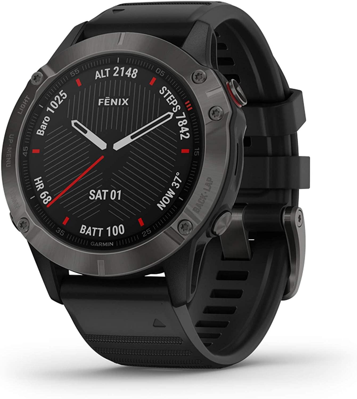 Garmin Fenix 6 Sapphire GPS Music Smartwatch