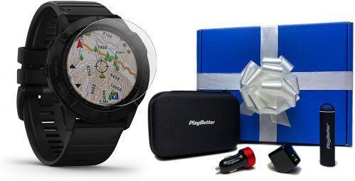 Garmin Fenix 6X Sapphire Premium Smartwatch Multi-sport GPS Watch Pulse Ox Sensors