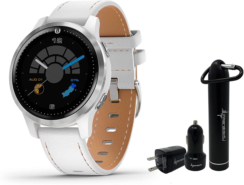 Garmin Legacy Saga Premium Smartwatch Features Jedi White Elements